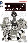 Teen Titans Go Sketch Cover by timshinn73