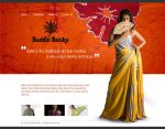 Buddhi batiks Web Interfaces by godwantsudead