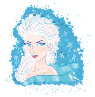 Frozen: Elsa by AxKato