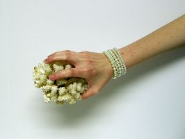 Hand with Coral Stock5 by NoxieStock