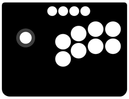 Mayflash Universal Arcade Stick Template by One-Mister-Badguy