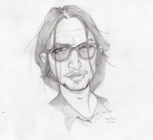 johnny depp by DeGiz