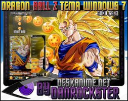 Goku SSJ3 Theme Windows 7 by Danrockster