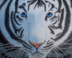 Inner Strength of the White Tiger by Kai45