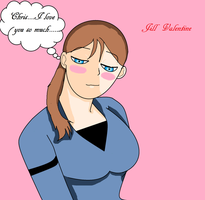 RE5 Jill Valentine by Flippygirls19