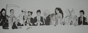 Dylan Dog Last Supper by Maxuelito