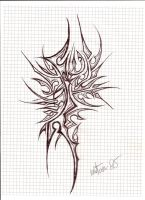 abstract tribal tattoo old style by mrtom85