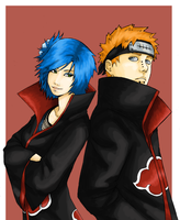 Pein and Konan by tobitkiwi by Hammy-chan