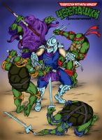 Archie TMNT vs Shredder v2 by ArseniyDubakov
