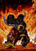 Etrigan the Demon by dichiara