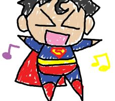 I am superman by OrangeBlueCream