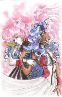 Dat Utena colored by Rustingz