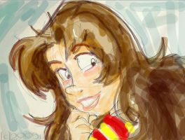 Art Pad Hermione - HP by lberghol
