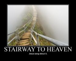 Poster - STAIRWAY TO HEAVEN by E-n-S