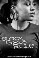 Black Girls Rule: Chasity by evolutionsky