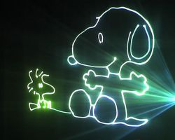 Snoopy in Laser by Diego-Sa