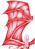 The red dragon by Julia261