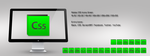 Adobe CS5 Icons Green by m-trax