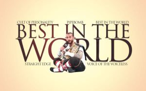 CM PUNK Best In The World Wallpaper by lovelives4ever