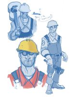 TF2 Engineer by IgnisNocte