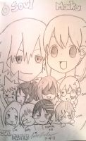 Soul Eater Chibis by Shimasteam2112