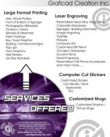 Services Flyer or Poster by smokejaguar