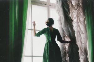 With Anguish Looking Out The Window by NataliaDrepina