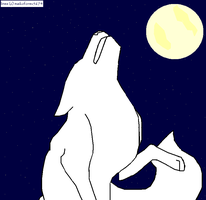 Starry Sky Howls Lineart MS PAINT Free by maikoforev5674