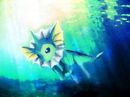 Vaporeon The Bubble Jet Pokemon by Janna--San