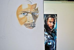 Thor WIP1 by ElocinImages