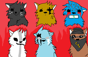 hollywood undead wolf style by k9wolfcat