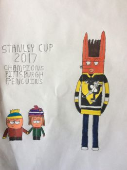 Stanley Cup 2017 Champions Pittsburgh Penguins by DylanRosales