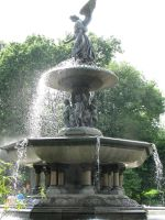The Bethesda Fountain by tk8247