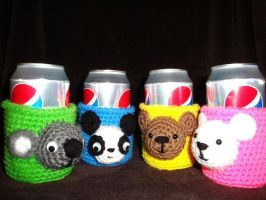 Critter Soda Can Cozy by Simnut