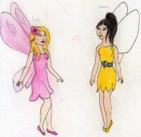 spring and summer fairy by Jornblk
