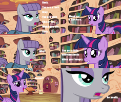 Maud Pie + Snickers by Transformersguy1000