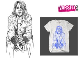 Kurt Cobain Limited Edition T by artwarriors