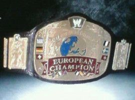 WWE '13: European Championship by TheRumbleRoseNetwork