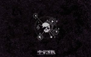 UKZ:AU Wallpaper - Jolly Roger by SpacePirateCaine