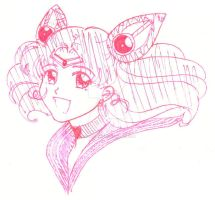 Prize: Sailor Chibimoon by thelettergii