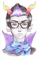 The Airs: Eridan by wolphie35