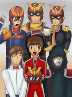 We are Captain Falcon by CaptainZelda07