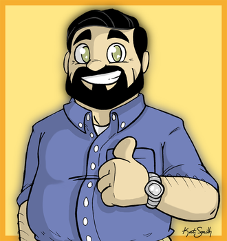 BILLY MAYS by Miss-Interocitor