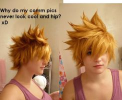 Roxas Wig Comm by 0Charcoal0
