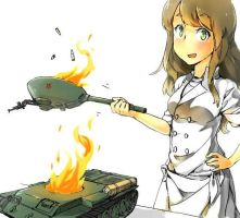 lalala just going to cook off some ammo :3 by izumasu47