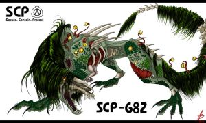 SCP-682 by ValeoAB