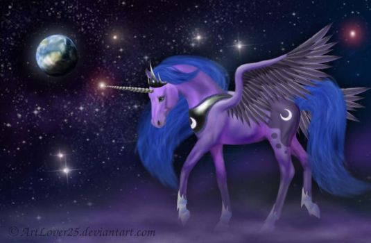 My Little Pony - Luna by ArtLover25