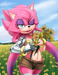 Jessie The Flower by ShadowOverlordXDZ