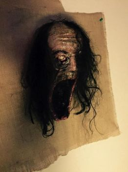 nightmare hag wall decoration by UglyBabyEater