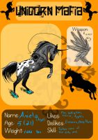 Unicorn Mafia App: Angel by RogueDraken